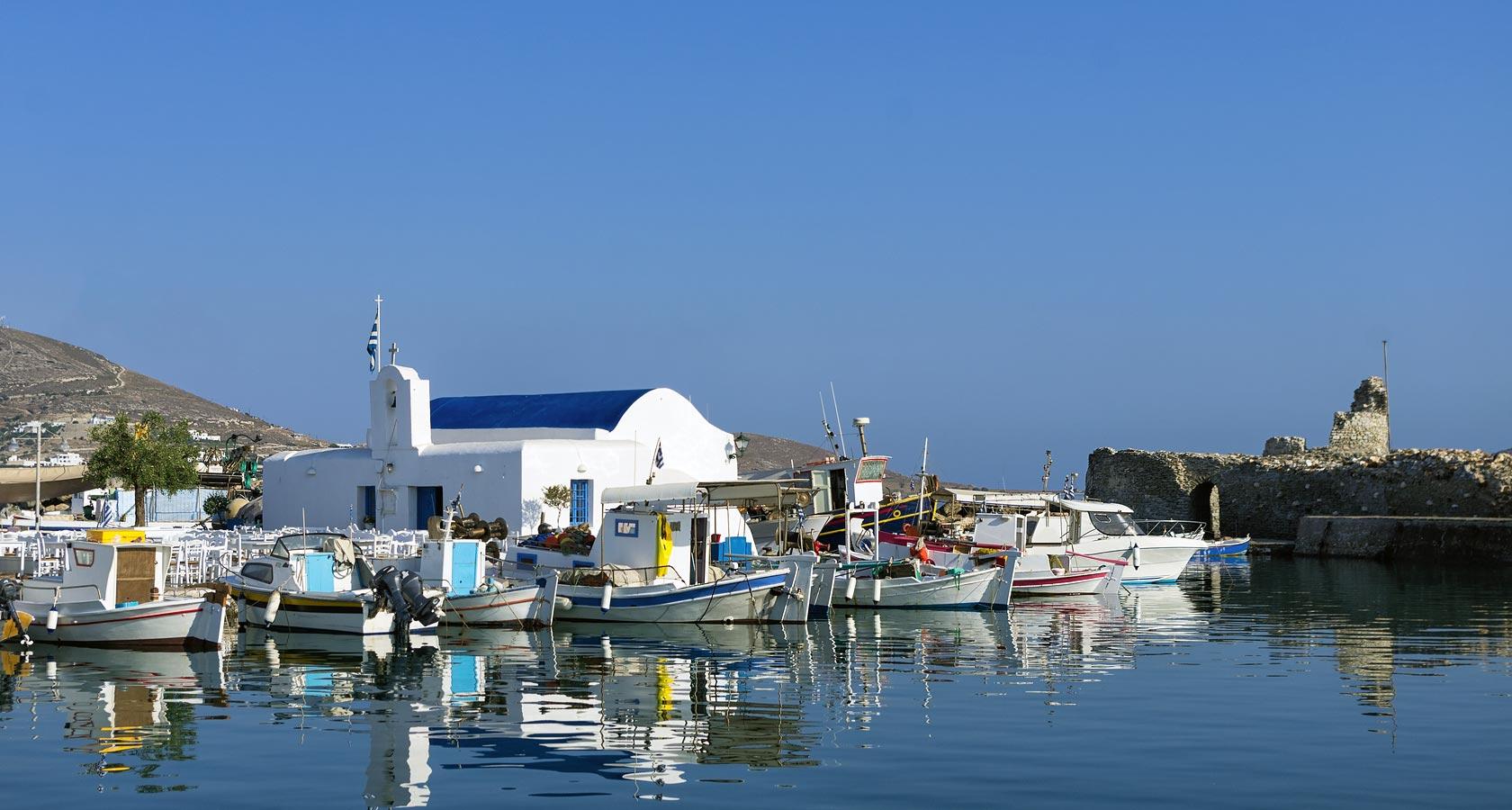 Naoussa fisshing village, Paros