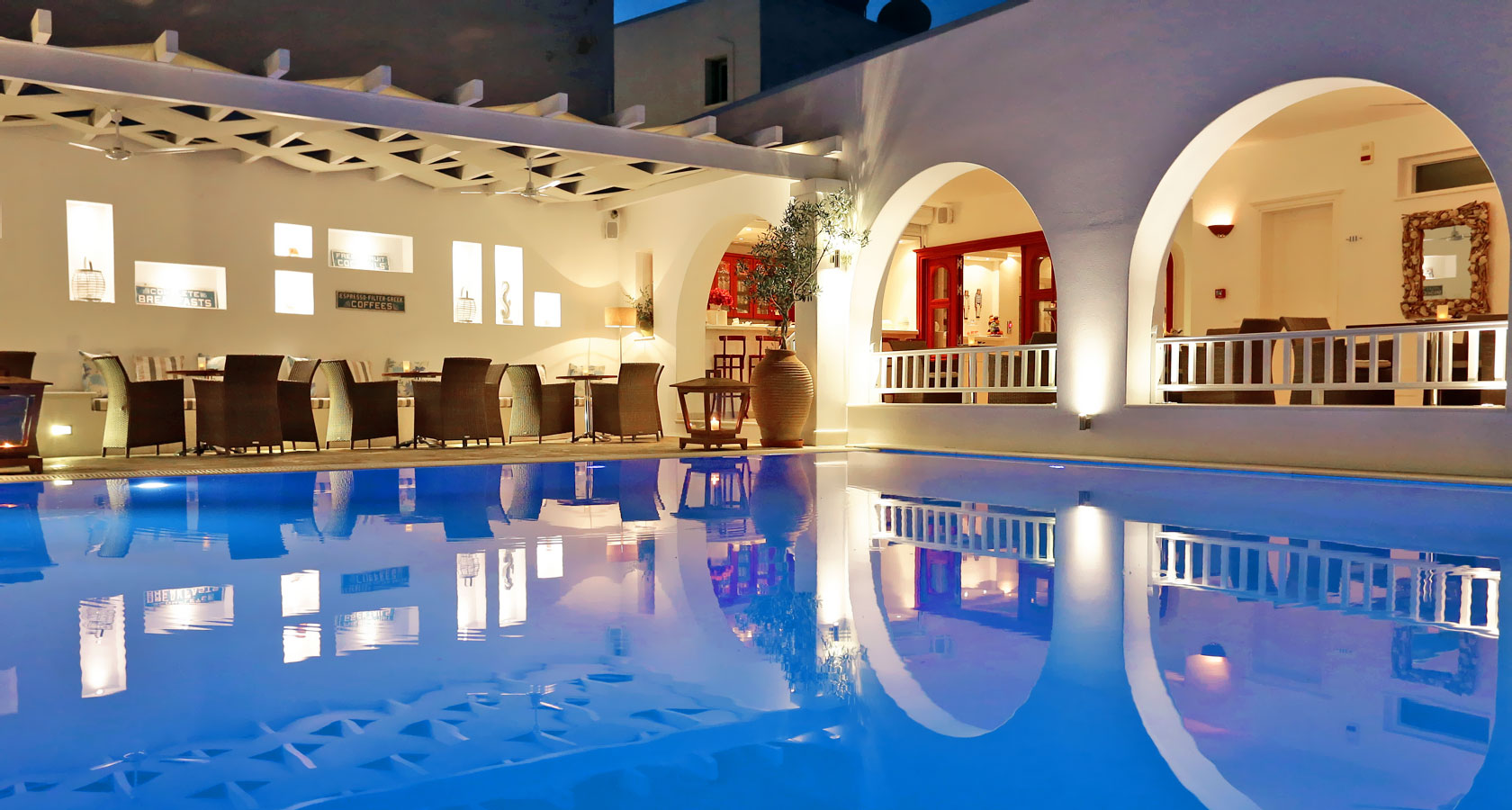 Stelia Mare Hotel in Paros – The pool