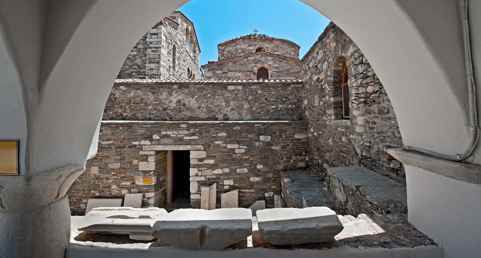 The Ekantotapiliani Church in Paros