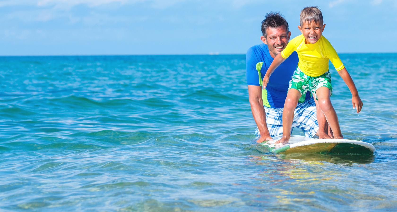 Paros surfing