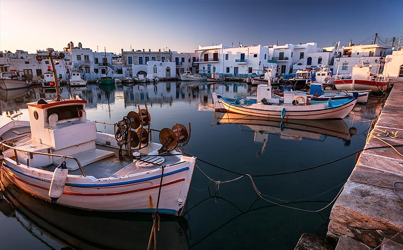 Experience the Architecture in Naoussa Paros Greece