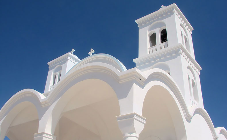 The Beautiful Architecture of Paros Greece