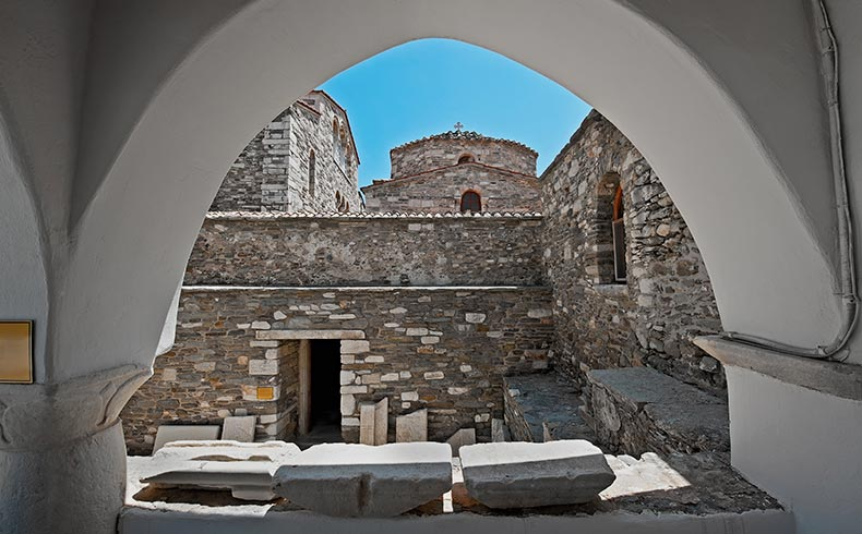Ekantotapiliani Church in Paros Greece