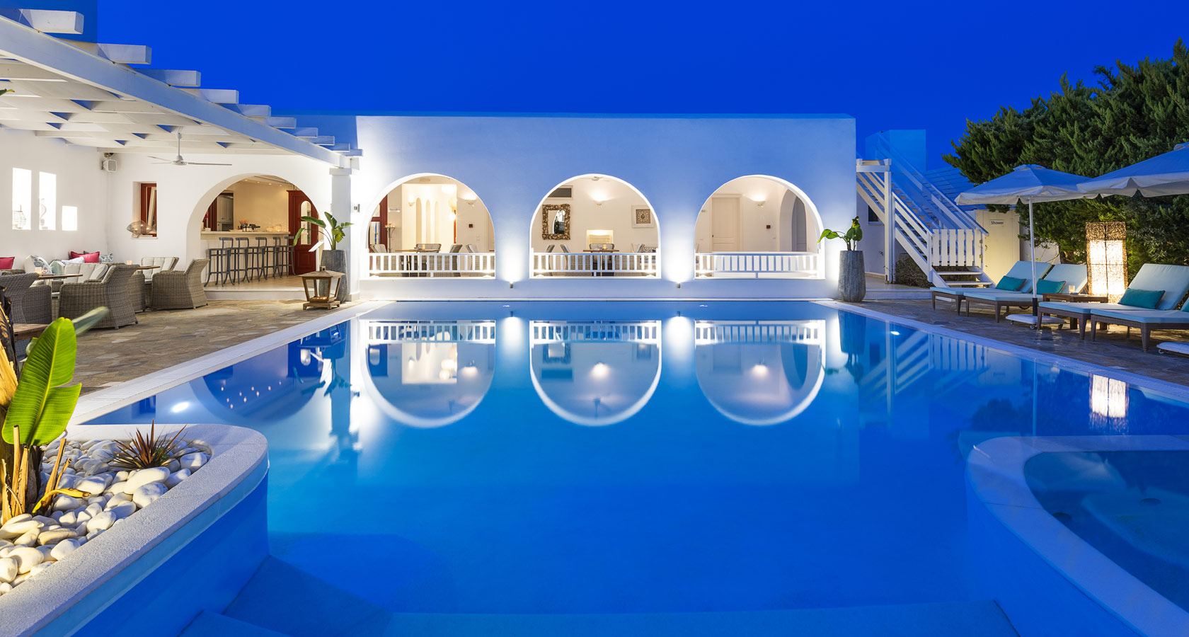 Stelia Mare Hotel in Paros – The pool